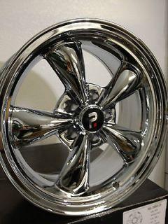 17 Inch Chrome Cragar SS (look) Torque Thrust Wheels Rims Camaro S10