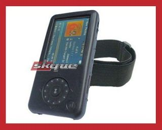 silicone skin black case for insignia pilot mp3 player