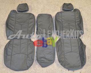 2005   2007 Chevrolet Silverado Xtra Cab Leather Seat Covers KATZKIN