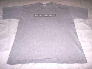 Dave Matthews Band Summer Tour 2002 Gray Concert Shirt Adult Medium