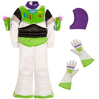 Store BUZZ LIGHTYEAR Boys Costume Toy Story Bodysuit Wings Gloves Hat