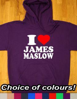 LOVE JAMES MASLOW HOODIE HOODY WOMEN BOYS MENS GIRLS KIDS BIG TIME