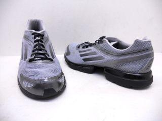 Adidas AdiZero RUSH Mens Running Shoes Silver/Iro/Black Size 12 Used
