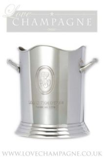 Louis Roederer Polished Metal Ice Bucket   Top quality not cheap copy