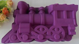 1PCS Train mold silicone mold cake mold cake tools baking tools