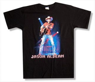 JASON ALDEAN   LIVE TOUR 2010 EAU CLAIRE T SHIRT   NEW ADULT 2XL XXL