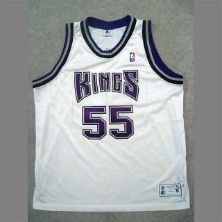 Authentic JASON WILLIAMS SACRAMENTO KINGS Jersey White 52 Starter 1998