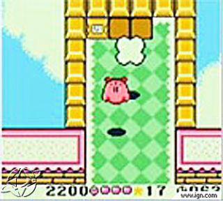 Kirby Tilt n Tumble Nintendo Game Boy Color, 2001