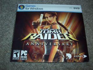PC Tomb Raider Anniversary Computer Game BRAND NEW SEALED