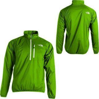 New The North Face Zephyrus Pullover Green Sport Running Parka Jacket