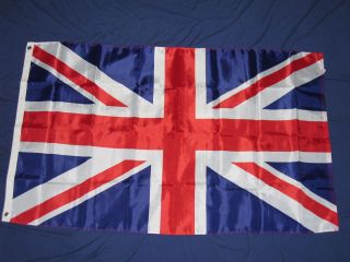 3X5 NYLON UNION JACK BRITISH FLAG UK GREAT BRITAIN F731