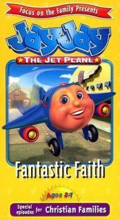 Jay Jay the Jet Plane   Fantastic Faith (VHS, 1999)