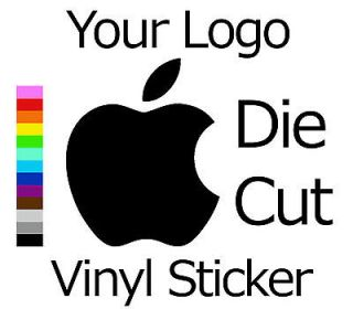 Custom Logo Sticker Personalized Vinyl Decal Die Cut