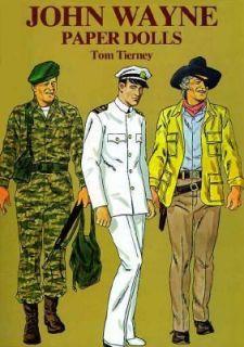 John Wayne Paper Dolls by Tom Tierney 1981, Paperback