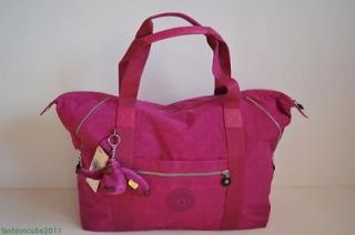 kipling art m tote bag tm2060 spicy purple
