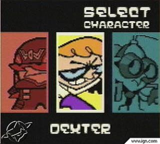 Dexters Laboratory Robot Rampage Nintendo Game Boy Color, 2001