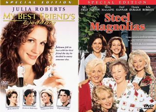 My Best Friends Wedding Steel Magnolias DVD, 2000, 2 Disc Set, Closed