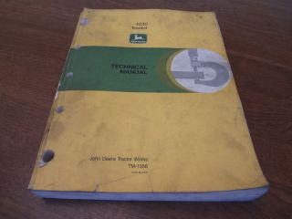 John Deere JD 4230 Tractor Technical Service Manual TM1056