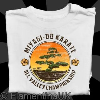 9017 BONZAI TREE W T SHIRT inspired by KARATE KID MIYAGI DO kung fu