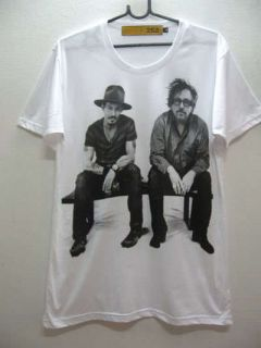 Johnny Depp & Tim Burton Film Movie Pop Rock T Shirt M