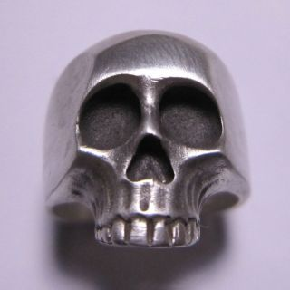 MJG SILVER XL KR SKULL RING. KEITH RICHARDS. ROLLING STONES. SLASH. SZ