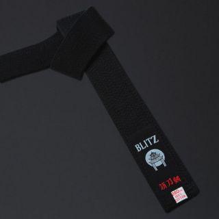blitz deluxe cotton black belt karate gi judo location united