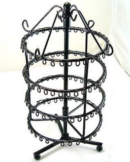 black Jewelry Holder Display Rack Earring 75 Pairs d020