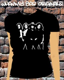THE CULT WOMANS BAND MUSIC T SHIRT LADIES RETRO WB070