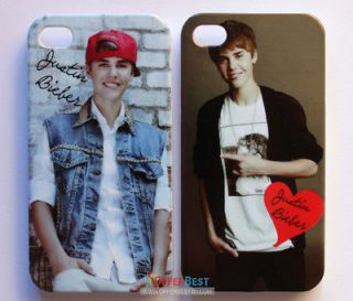 Newly listed Justin Bieber Stylish Case cover For iphone 4 4S NEW