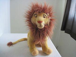 15 Applause Disney The Lion King Simbas Father MUFASA Plush Stuffed