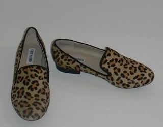 steve madden leopard loafers in Flats & Oxfords