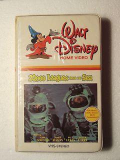 20,000 LEAGUES UNDER THE SEA(1954) VHS TAPE (WALT DISNEY RELEASE)