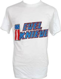 evel knievel daredevil motorcycle vtg retro t shirt xl