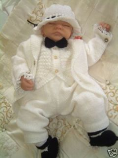 knitting pattern tail coat suit for newborn baby boy time