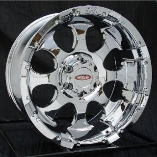16 inch chrome wheels rims chevy silverado gmc truck moto