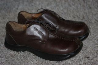 Earth Kalso Leather Heritage oxfords shoes comfort brown womens 7.5