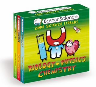 Basher Science Core Science Library by Kingfisher Editors and Simon