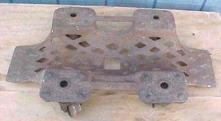 1910 cast iron single car dolly norwood vehicle caster time