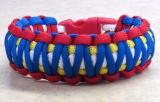 PHILIPPINES~Manny Pacquiao~Boxing~Stylish 4 Color Survival Bracelet~L