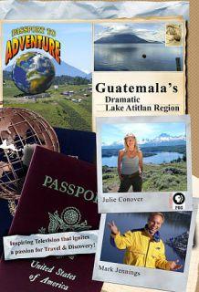to Adventure Guatemalas Dramatic Lake Atitlan Region DVD