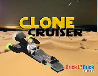 lego star wars clone cruiser custom set w clonetrooper time