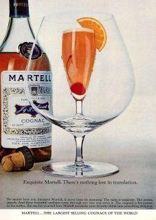 1969 martell cognac exquisite vintage ad  9
