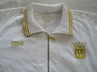 RARE~Adidas RYMR MUHAMMAD ALI Track sweat Top shirt Jacket superstar