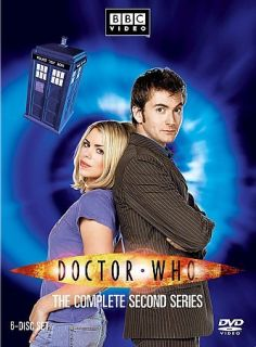 Doctor Who   The Complete Second Series (DVD, 2007, 6 Disc Set)