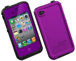 LifeProof iPhone 4 4S Case Life Proof Generation 2 PURPLE Cover New