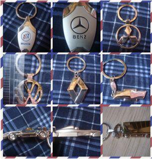 High Quality Motors Car Truck LOGO car model Key Chains keychain Men