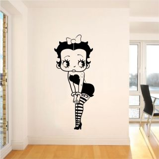 BETTY BOOP Wall Sticker Decal Vinyl Cartoon Big Large Bedroom