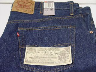 LEVIS ORIGINAL 501 BUTTON FLY VINTAGE BLUE JEANS AMERICAN MADE 1987