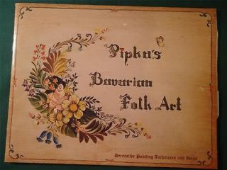 folk art painting patterns in Patterns & Instructions