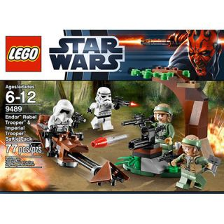 LEGO STAR WARS 9489 Endor Rebel Trooper & Imperial Trooper Battle Pack